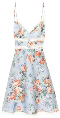 Zimmermann Bowie floral linen dress