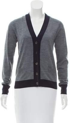 Rag & Bone Contrast-Paneled Knit Cardigan