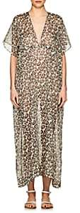 Eres Women's Scale Leopard-Print Cotton Caftan - Bakelite