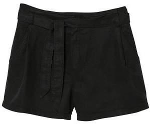 MANGO Soft fabric shorts