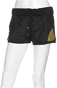 Diabless Bell Rollover Band Shorts