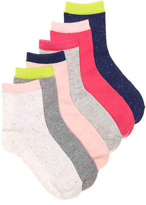 Mix No. 6 Quarter Crew Socks - 6 Pack - Women's