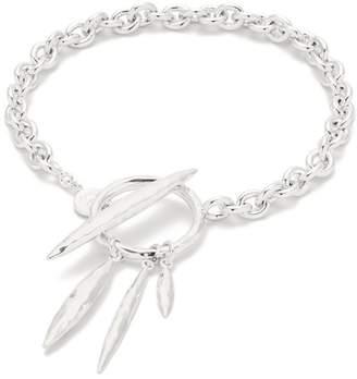 Gorjana Nora Silver Plated Toggle Bracelet