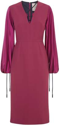 Roksanda Darya Blouson Sleeve Dress