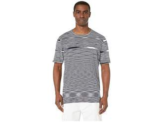 Missoni Fiammato Cotton Short Sleeve Sweater