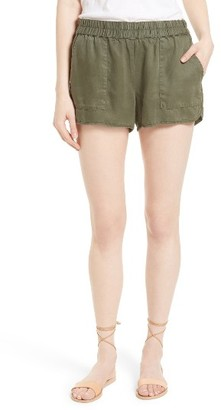 Women's Soft Joie Delavina Tencel Twill Shorts $128 thestylecure.com