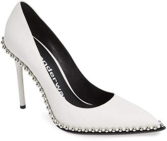 Alexander Wang Rie Stud Pointy Toe Pump