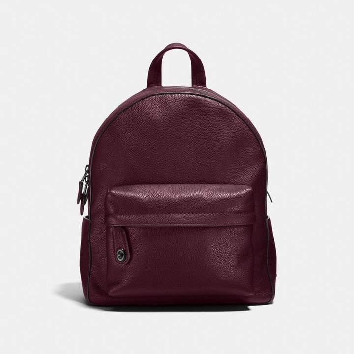 Coach Campus Backpack - OXBLOOD/DARK GUNMETAL - STYLE