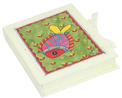 Buy Fond Fish Fish-Themed Paper Greeting Cards (Set of 8) from India!