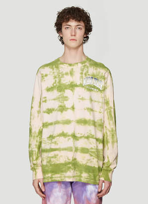 Stain Shade Vintage Tie-Dye T-shirt in Green
