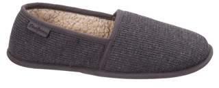 Dearfoams Men's Thermal Closed Back Slippers