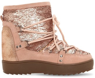 Colors of California WATERPROOF SEQUINED SNOW BOOTS