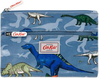 Cath Kidston Dino Shadow Kids Double Zip Pencil Case