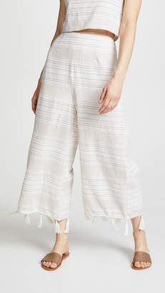 MinkPink Natural Instinct Tassel Pants