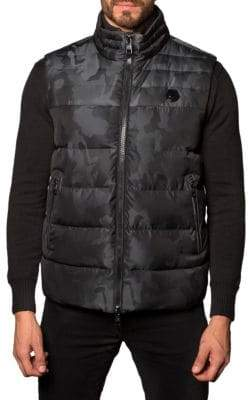 Jared Lang Camo Puffer Vest