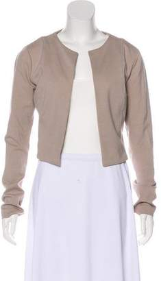 Alexander Wang Casual Open Front Jacket