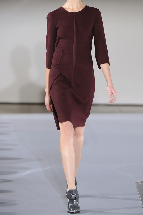 Jil Sander Wool melton dress