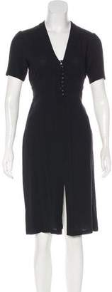 Paul & Joe Wool-Blend Midi Dress
