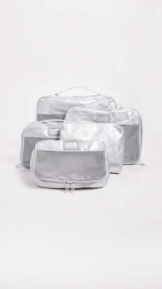 CalPak Metallic Packing Cube Set