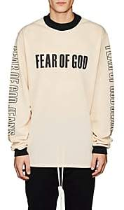 Fear Of God Men's Motocross-Inspired Mesh Oversized Shirt - White