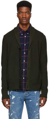 Rag & Bone Green Cardiff Shawl Cardigan