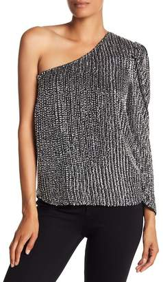 Parker Patricia One Shoulder Blouse