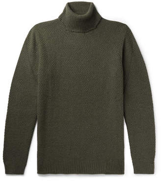 NN07 Pearl Slim-Fit Knitted Rollneck Sweater