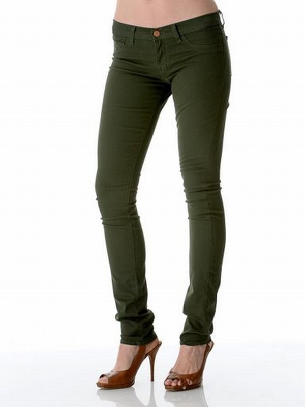 J Brand Exclusive! Skinny Twill Pant