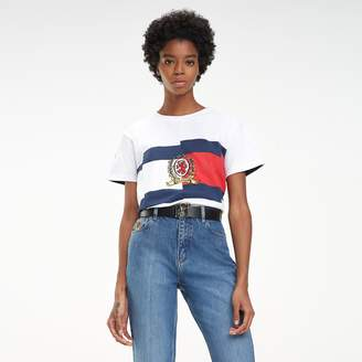 Tommy Hilfiger Contrast Spliced T-Shirt