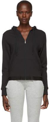 Calvin Klein Underwear (カルバン クライン アンダーウェア) - Calvin Klein Underwear ブラック モノクローム ジップアップ フーディ