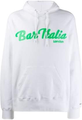 Sacai logo hoodie