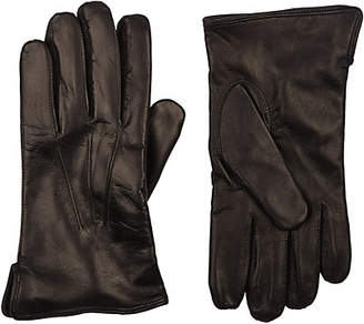 Barneys New York Men's Cashmere-Lined Gloves - Black