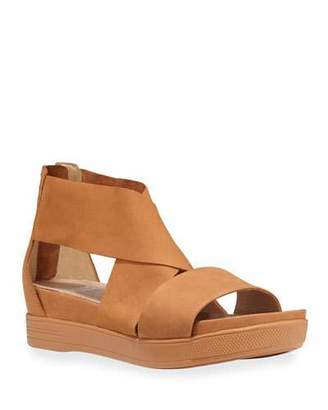 Eileen Fisher Sport Strappy Leather Sandals