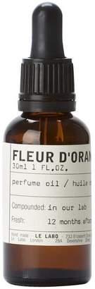 Le Labo Fleur D'Oranger Perfume Oil 30Ml