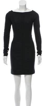 Diane von Furstenberg Long Sleeve Carita Dress