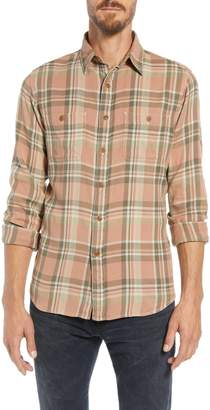 Frye Miles Regular Fit Plaid Flannel Workshirt