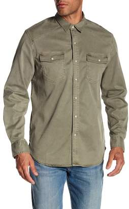 Lucky Brand Western Work-Wear Long Sleeve Shirt