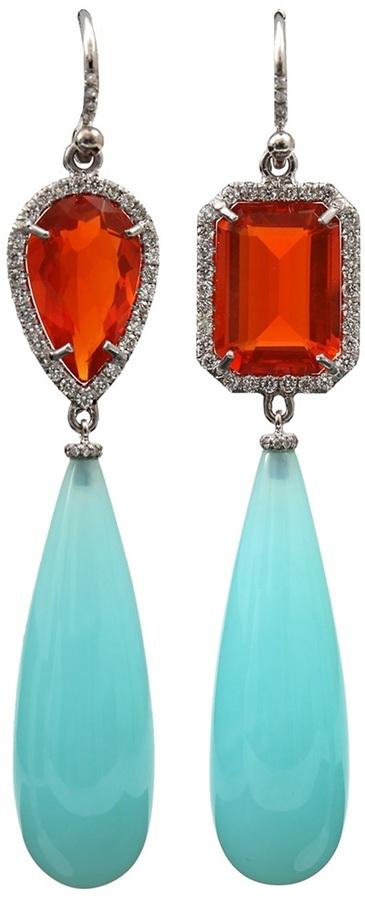 Irene Neuwirth opal drop earring