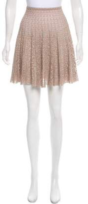 Alaia Flared Mini Skirt