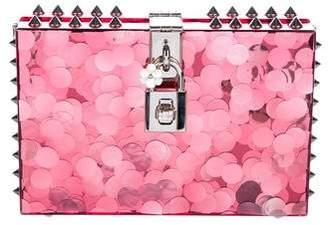 Dolce & Gabbana Sequin Sweet Box Clutch