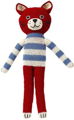 Anne Claire Petit FELIX HAND-CROCHETED ORGANIC COTTON CAT
