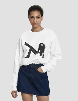 Calvin Klein Jeans Est. 1978 Icon Box Print Crewneck Sweatshirt