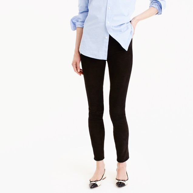 J.CrewCollection suede leggings