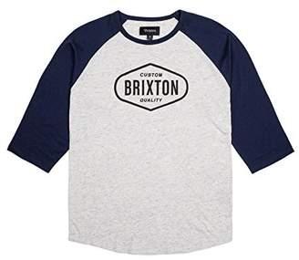 Brixton Men's Oakland 3/4 Tee
