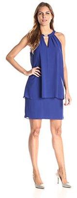 Jessica Howard Women's Keyhole Popover Dress $99.99 thestylecure.com