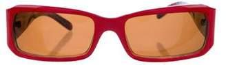 Miu Miu Narrow Tinted Sunglasses