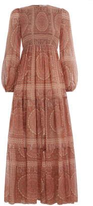 Zimmermann Primrose Paisley Crinkle Dress