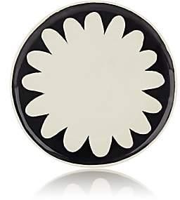 Hudson Nicholas Newcomb Valley Chrysanthemum Dinner Plate-Black