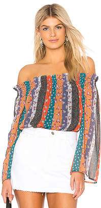 Beach Riot Rose Top