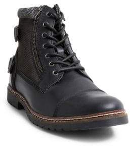 Steve Madden Wanted Leather Combat Boots